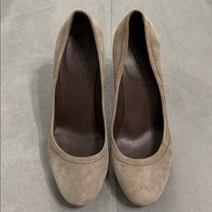 J Crew Leather Heels